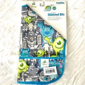 ❤️ 3 for $10 ❤️ Sleeved Bib - Monsters Inc.